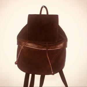 Vintage Americana by Sharif Mini Suede Backpack